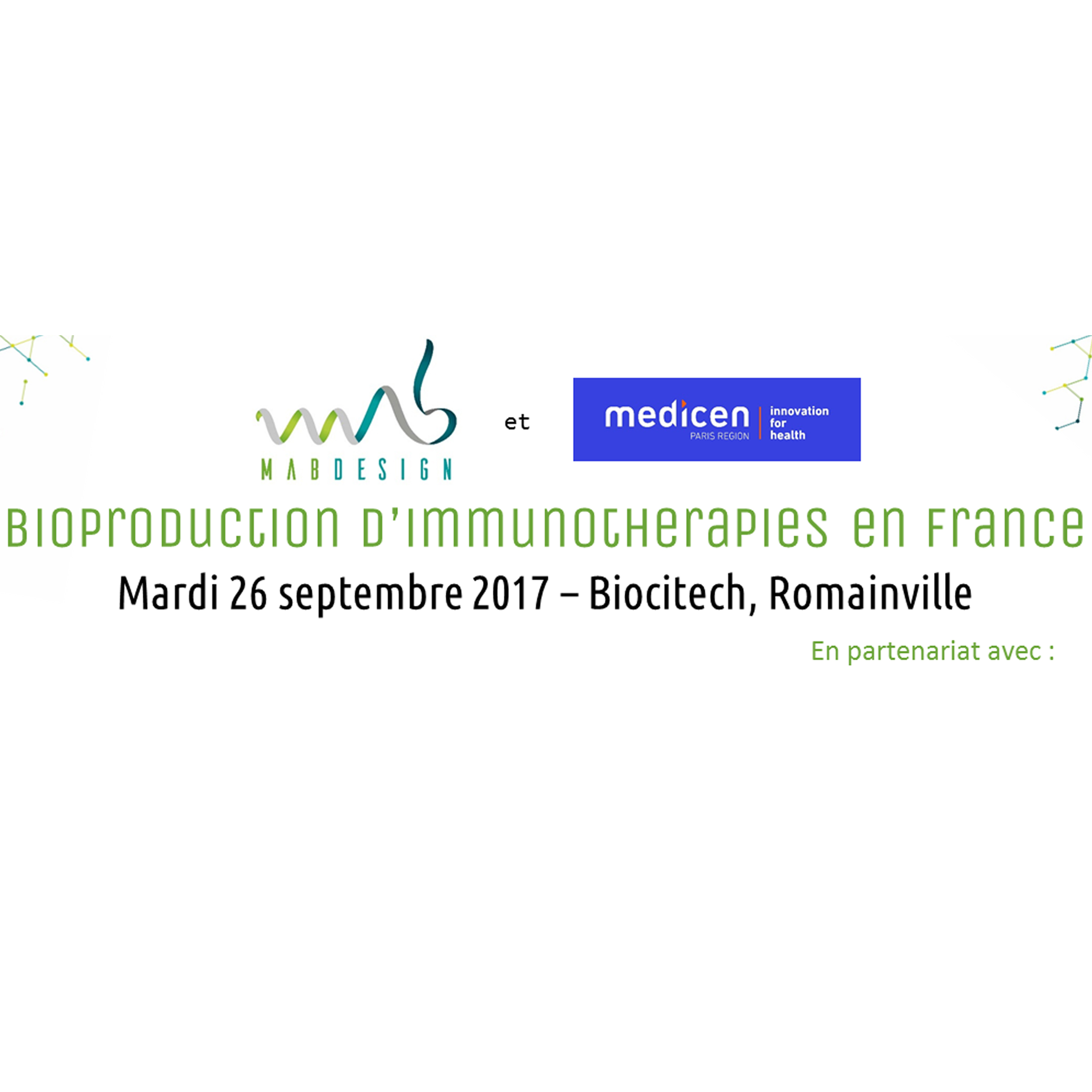 Bioproduction d'immunothérapies en France
